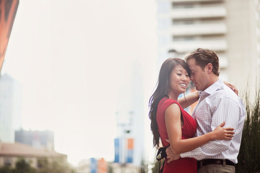 Victory Park Engagement Photos   Dallas Engagement and Wedding Photography Table  Weddings
