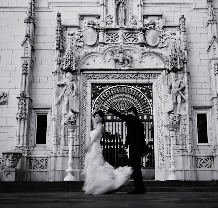 Linda and Vu's Grand Wedding at Hearst Castle
