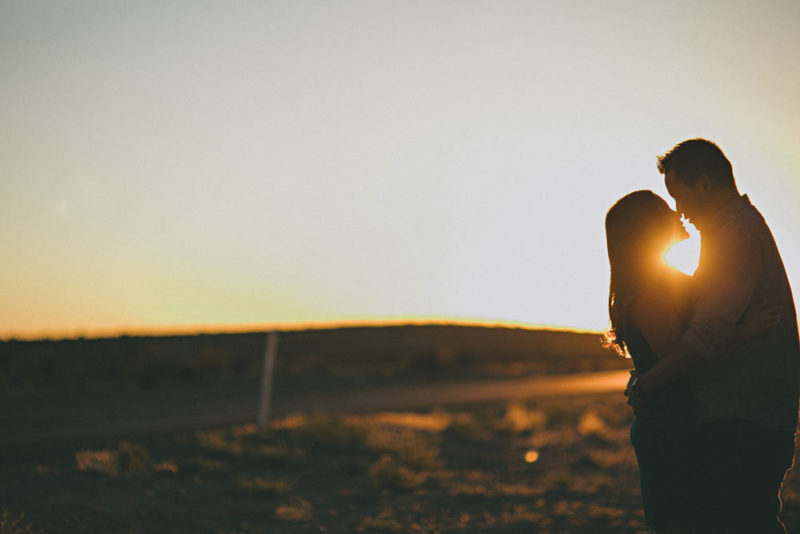 las vegas sunrise in desert image