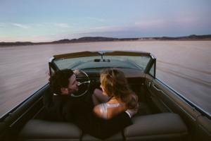 las vegas desert engagement photography