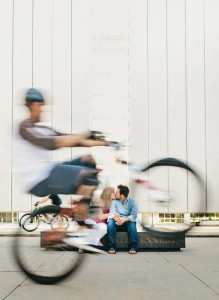 dallas creative bike engagement
