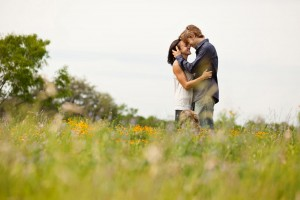 austin hill country engagement