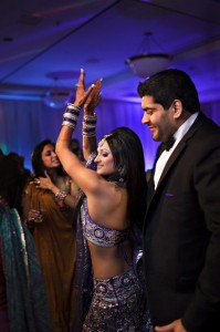 indian wedding reception party