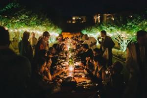 austin villa del lago indian wedding dinner reception