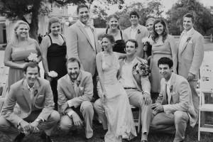 austin barr mansion wedding party
