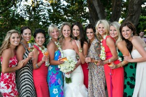 maui wedding girls