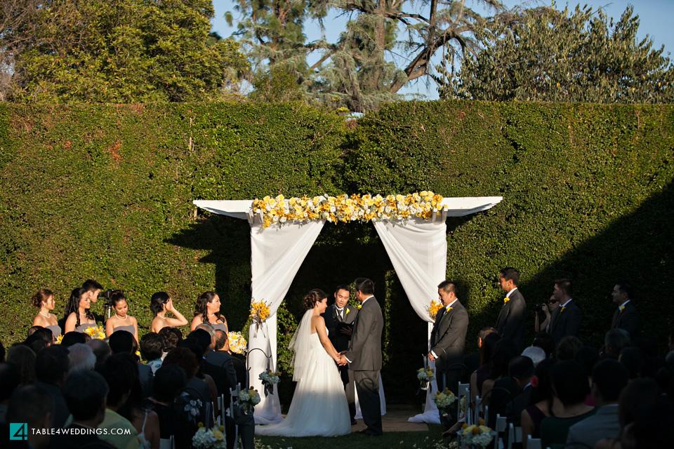 Alta Dena Country Club Pasadena Wedding
