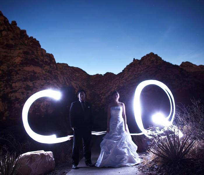 Midday desert wedding? No problem!