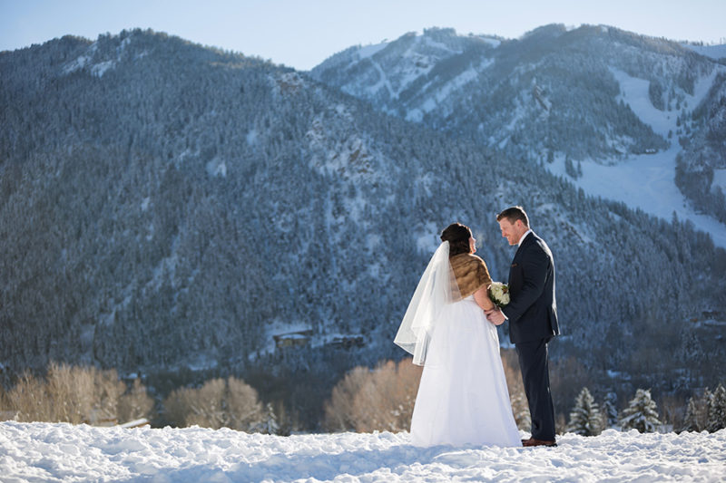 Lexie & Curtis wedding in Aspen Colorado, elopement in aspen, winter wedding by Jason Huang, Table4.