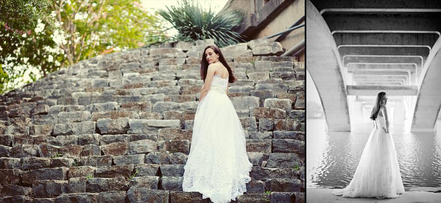 austin texas zilker park bridal picture
