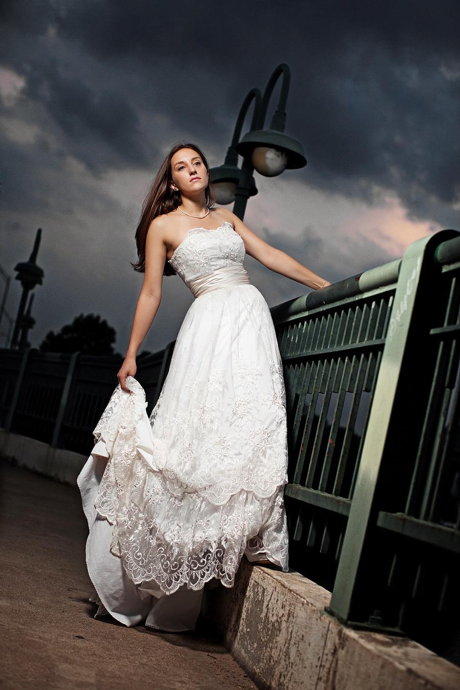 austin texas zilker park bridal portrait