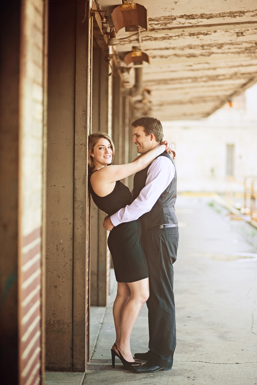 downtown fort worth engagement pictures