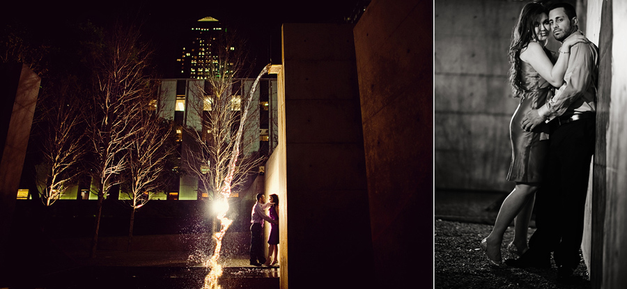 deep ellum engagement session images with table4 photography