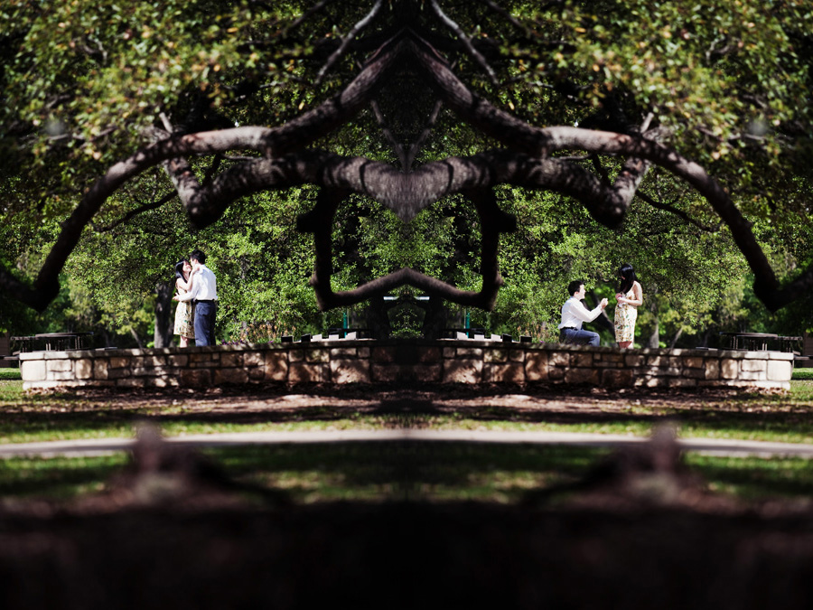 first evangelical free church proposal image, table4 austin texas wedding image