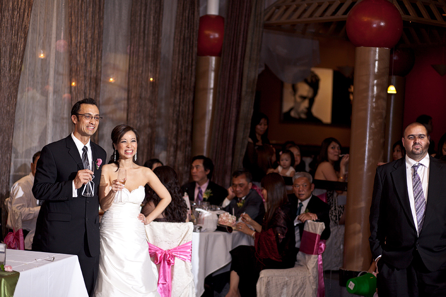 zander house wedding reception image