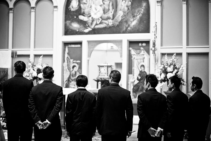 all saints catholic church wedding image, houston texas wedding image