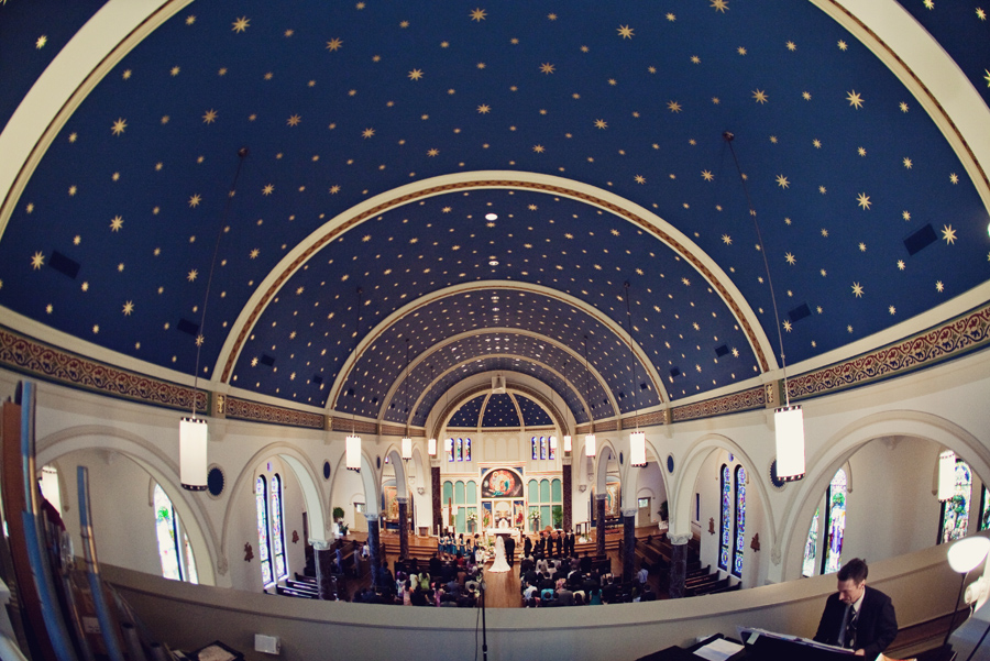 all saints catholic church wedding image, houston texas wedding image