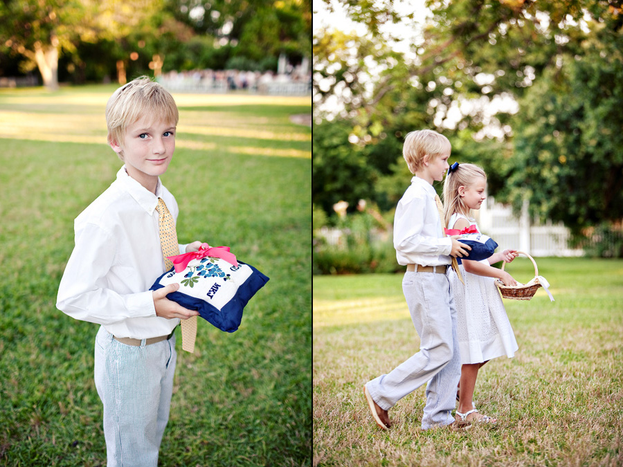 barr mansion wedding photos, austin texas hill country wedding images, table 4 wedding photography by jason and andrew, custom ring bearer pillow image