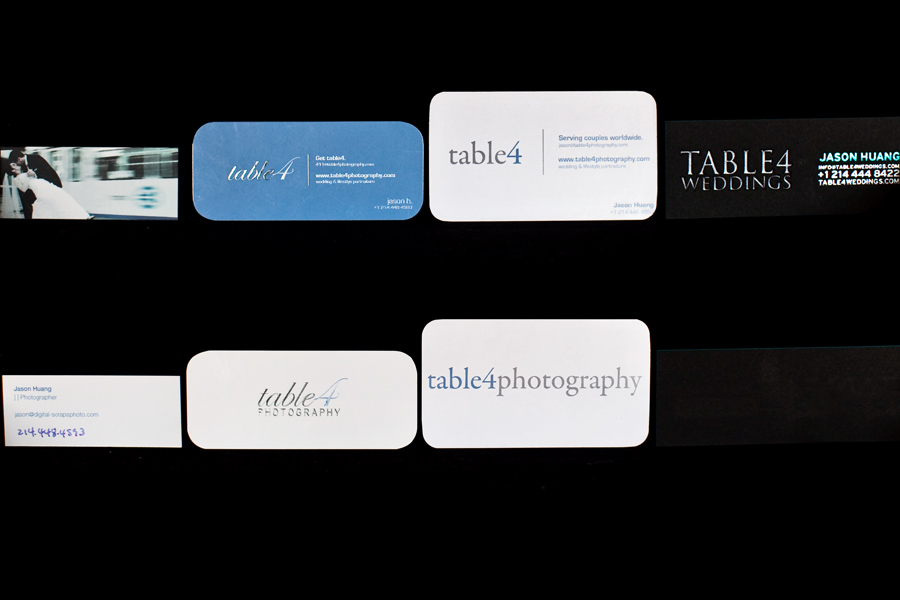 table4 business cards evolution