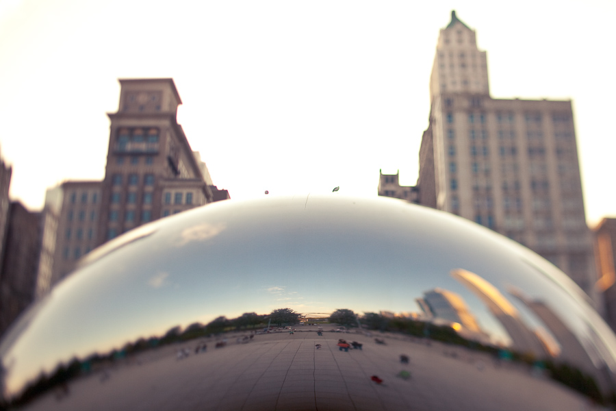 chicago wedding photographer, table 4 weddings photography, cloud gate, millennium park