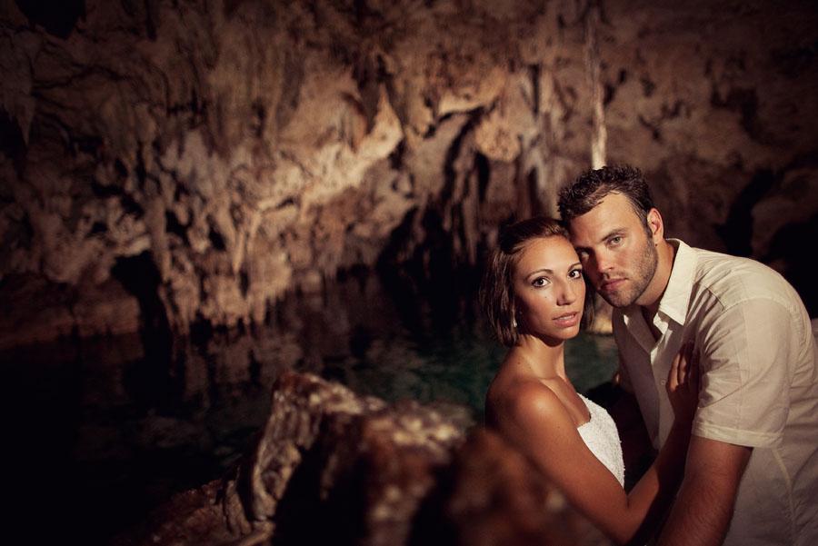 moon palace mexico destination wedding image