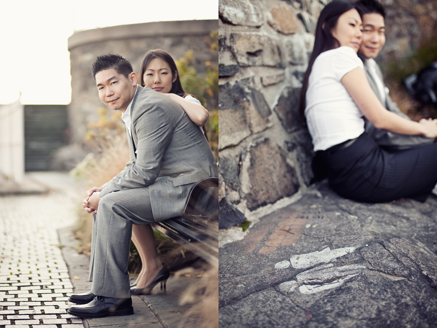yuri and kee new york city new jersey engagement photos