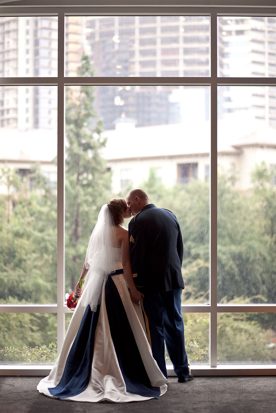w hotel dallas wedding photo