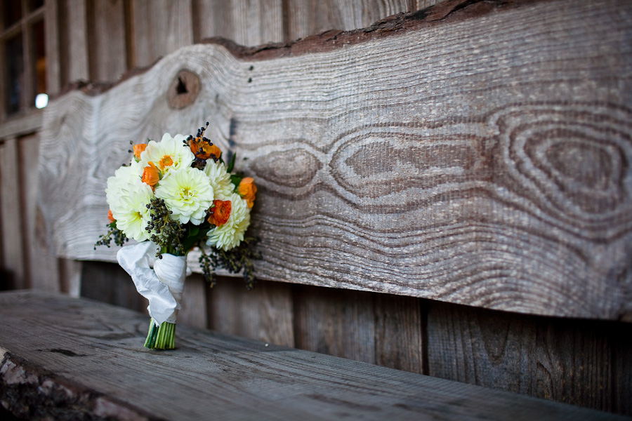 classic country outdoor wedding ceremony at texas old town kyle photographed by table4