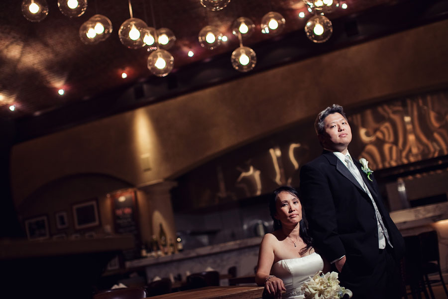 wheeling wedding photo