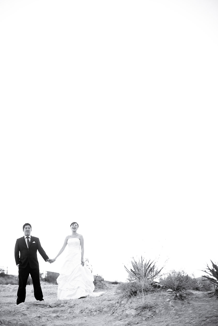 night time outdoor wedding photos at red rock canyon in las vegas by destination wedding photographer table4 weddings