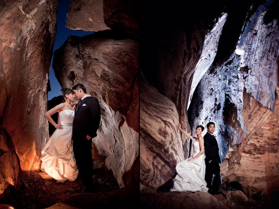 outdoor wedding photos at red rock canyon in las vegas by destination wedding photographer table4 weddings