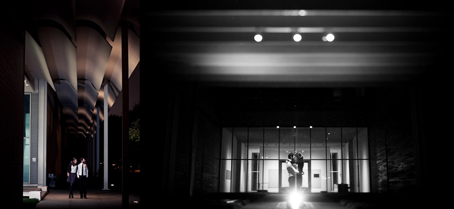fun, chic engagement photos at the art museum houston by dallas wedding photographer table4