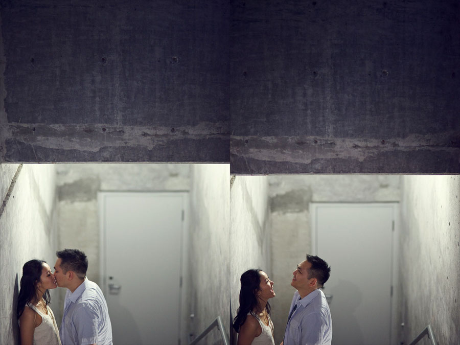 chic modern creative engagement session in downtown dallas by dallas wedding photographer table4 weddings