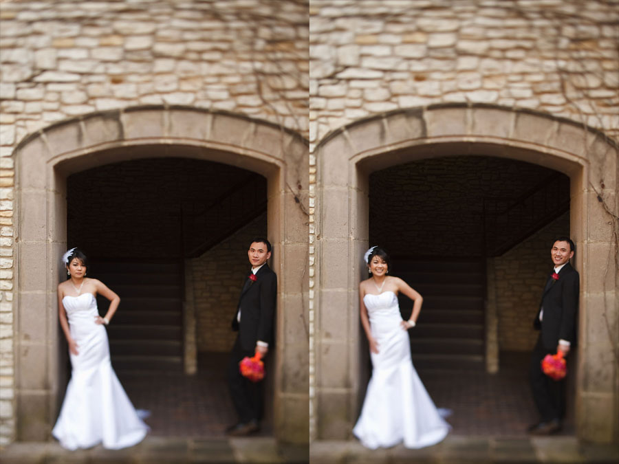 day after bridal portrait session at las colinas canals by dallas wedding photographer table4