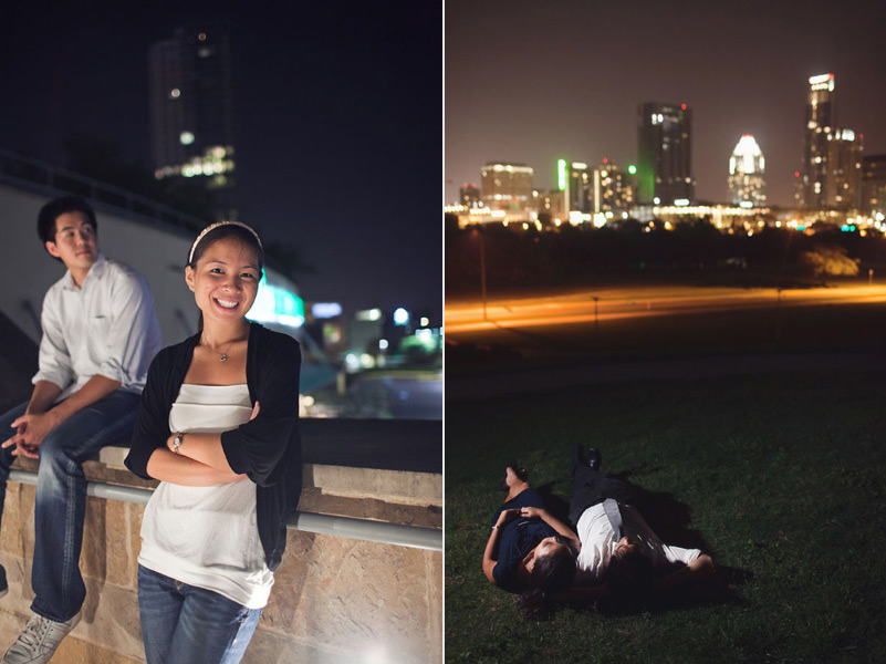 austin greenbelt engagement photos, whole food engagement session