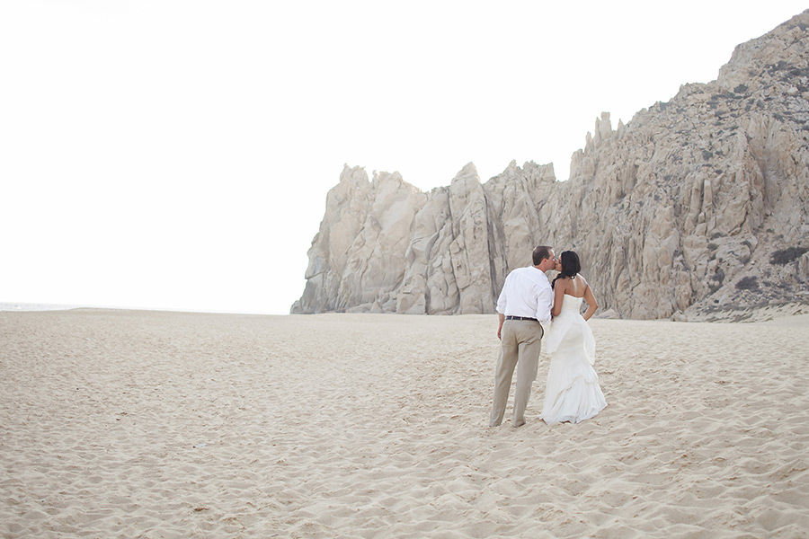 lovers beach cabo san lucas wedding images