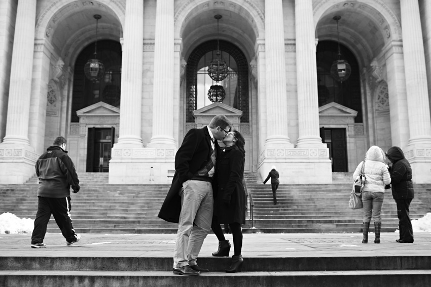 new york public library engagement session by dallas engagement photographer table4