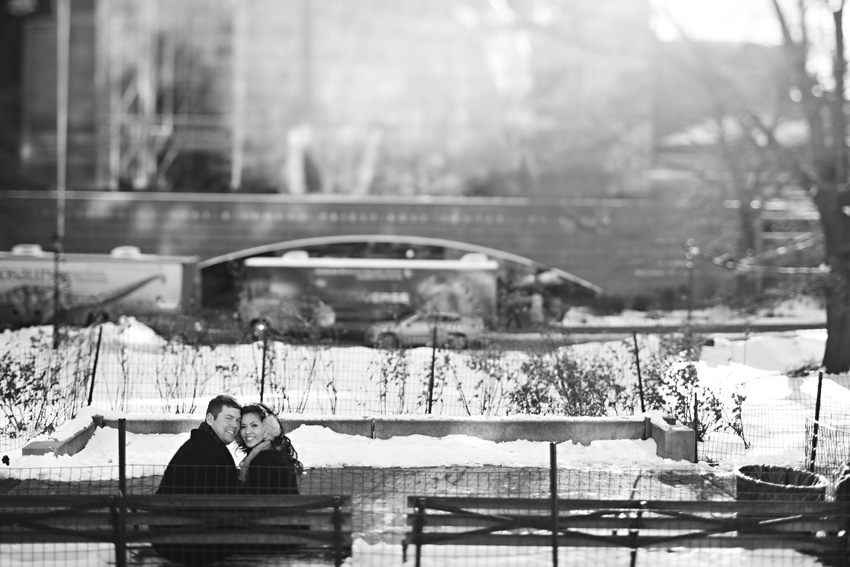museum of natural history new york engagement session by table4