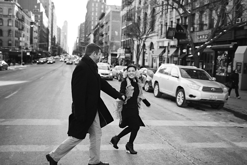 new york city destination engagement photograph