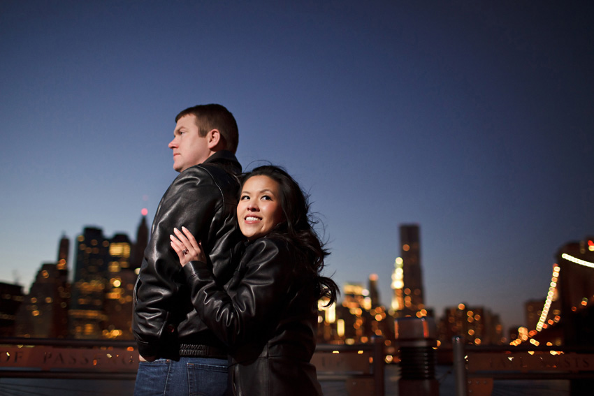 brooklyn bridge park engagement photo by destination photographer table4