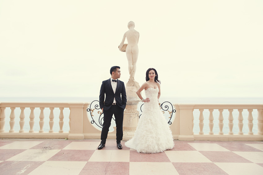 malibu mansion wedding shoot by table4 weddings