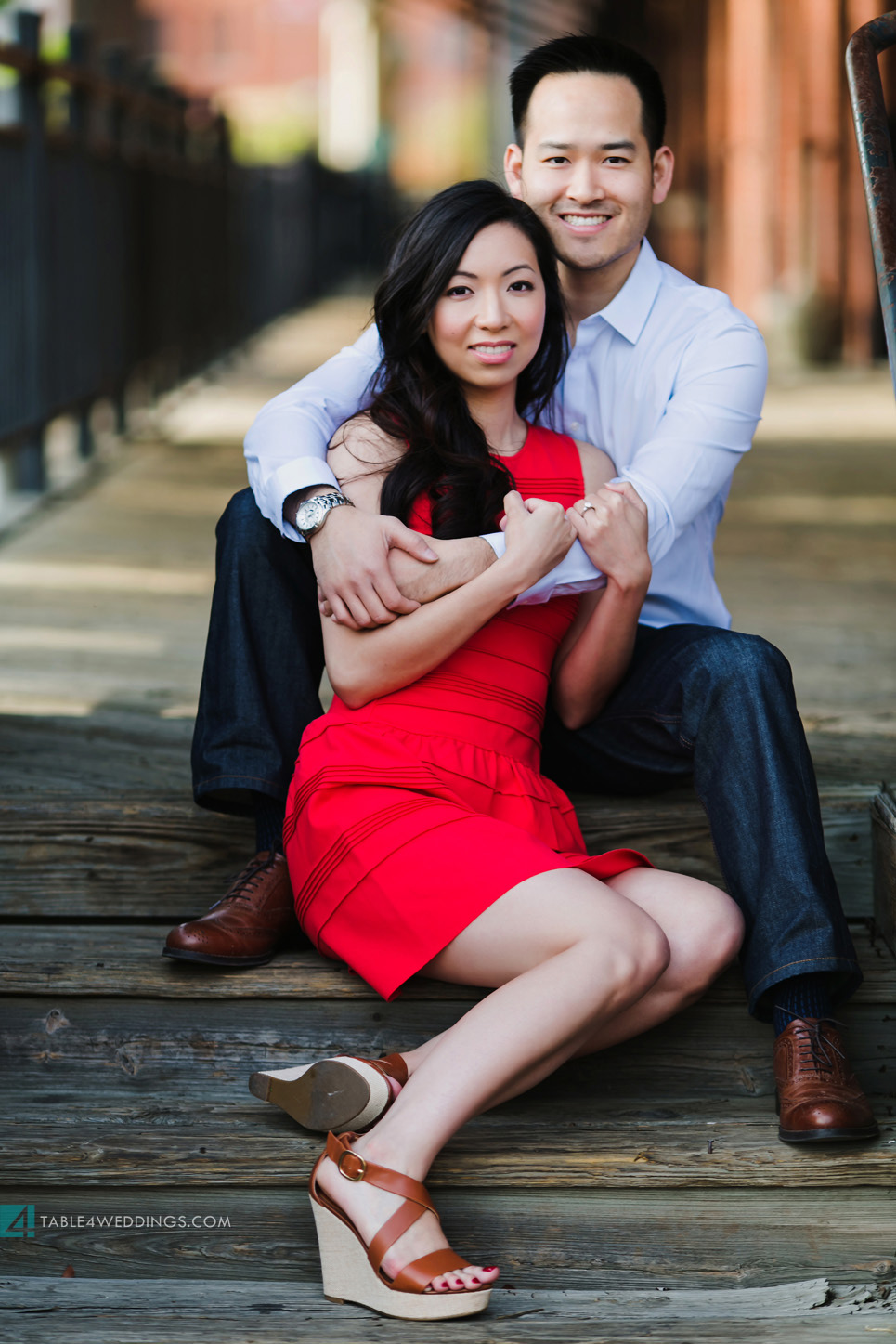 west end dallas engagement images