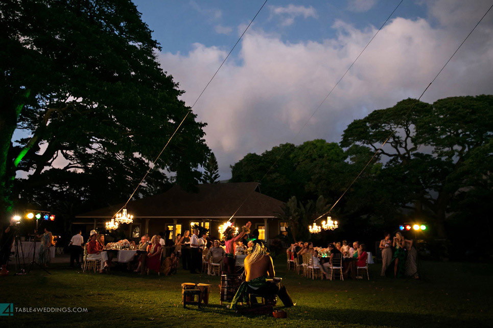 olowalu plantation house wedding reception, maui wedding photography, hawaii wedding photography