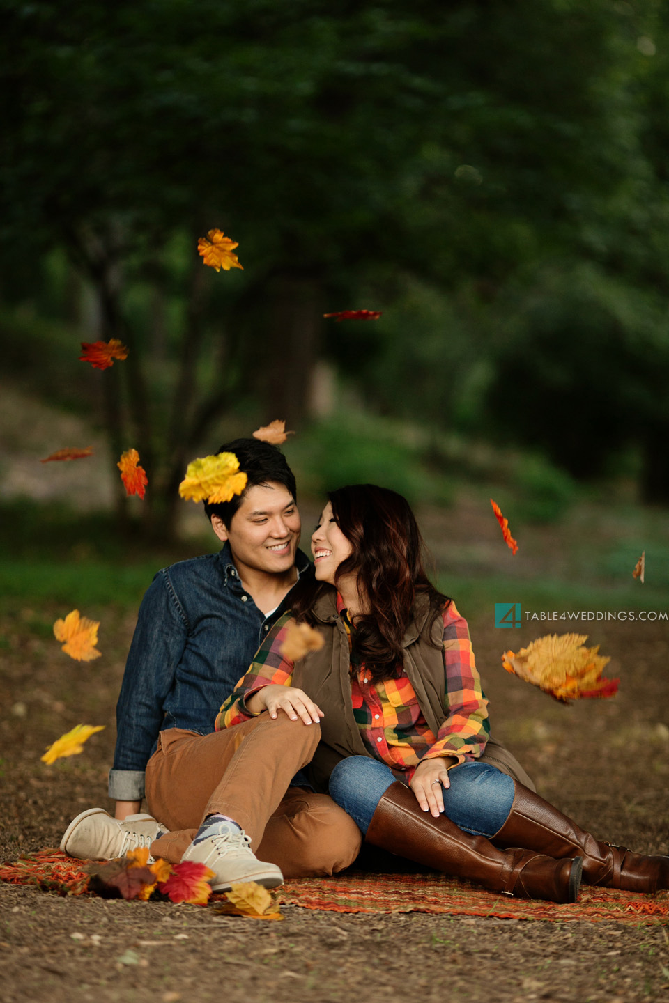 030 table4 best of 2013 engagement photos fall themed leaves