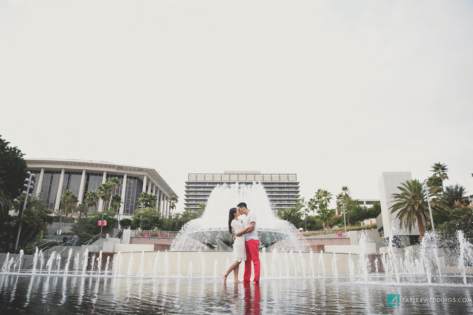 downtown los angeles grand park engagement image
