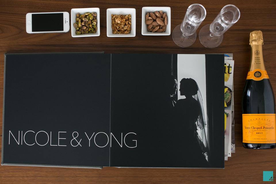 table4 wedding albums flush mount signature album