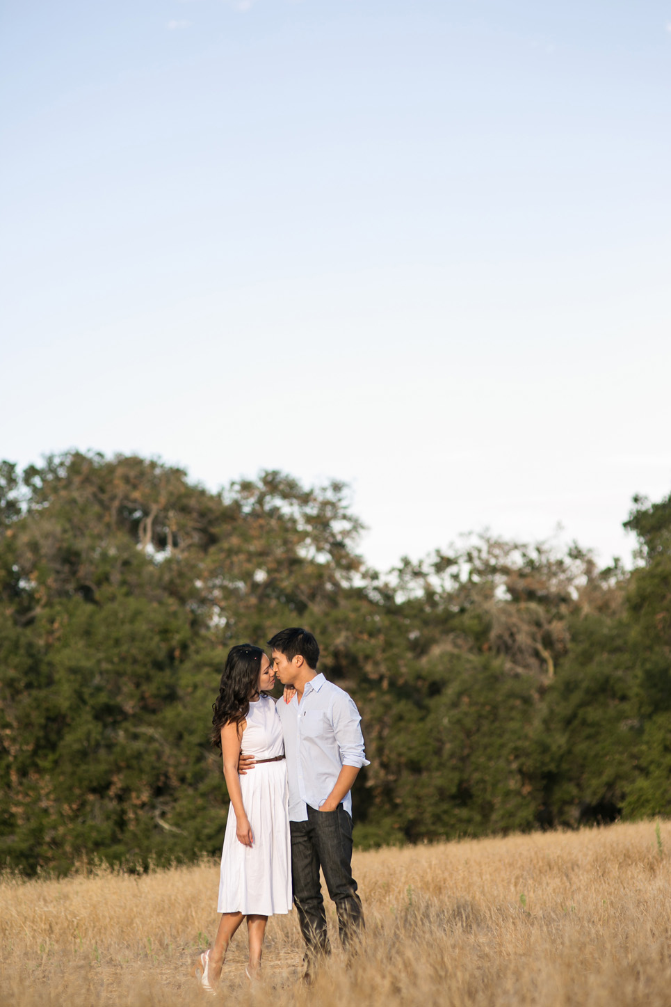 riley wilderness park engagement photo, southern california wedding