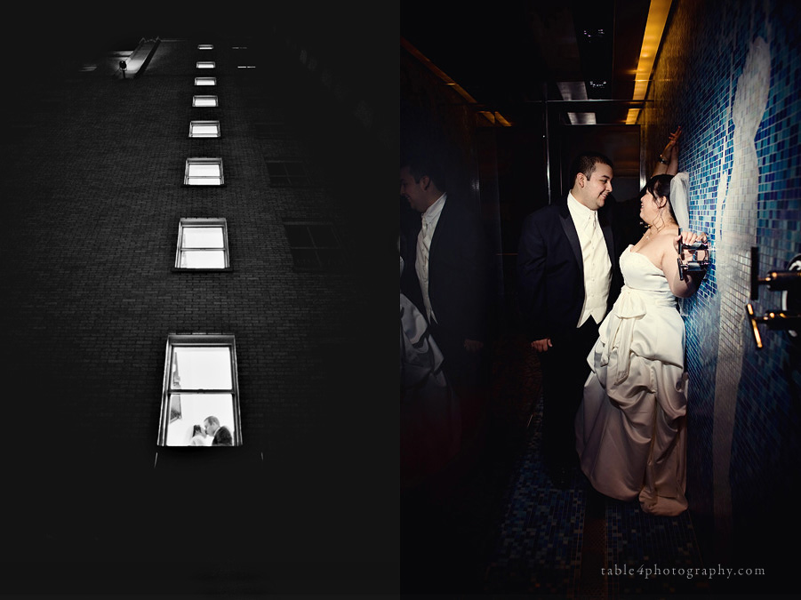 dallas hotel joule wedding picture