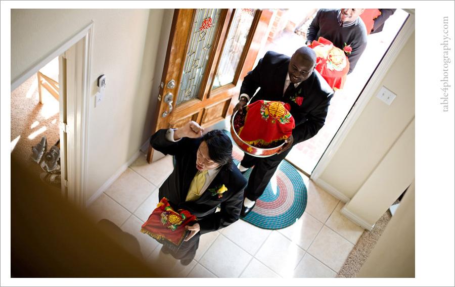 dallas, tx vietnamese tea ceremony wedding images