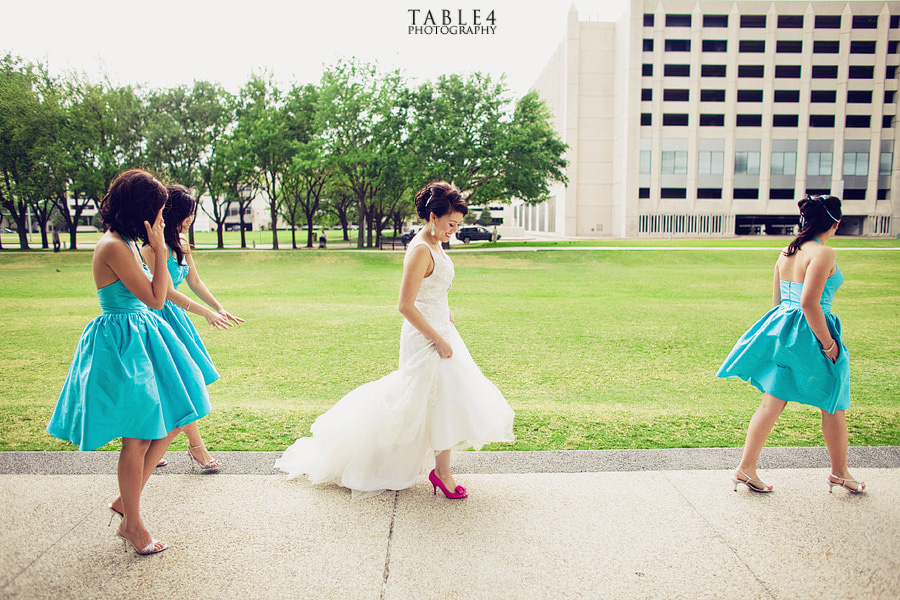 houston water garden wedding image